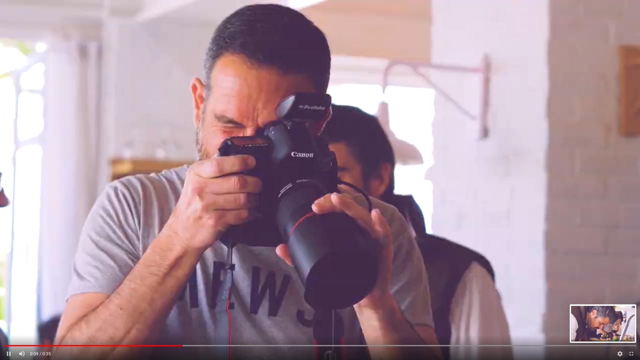 Photo Shooting de Xisco Montserrat en Chalet Siena