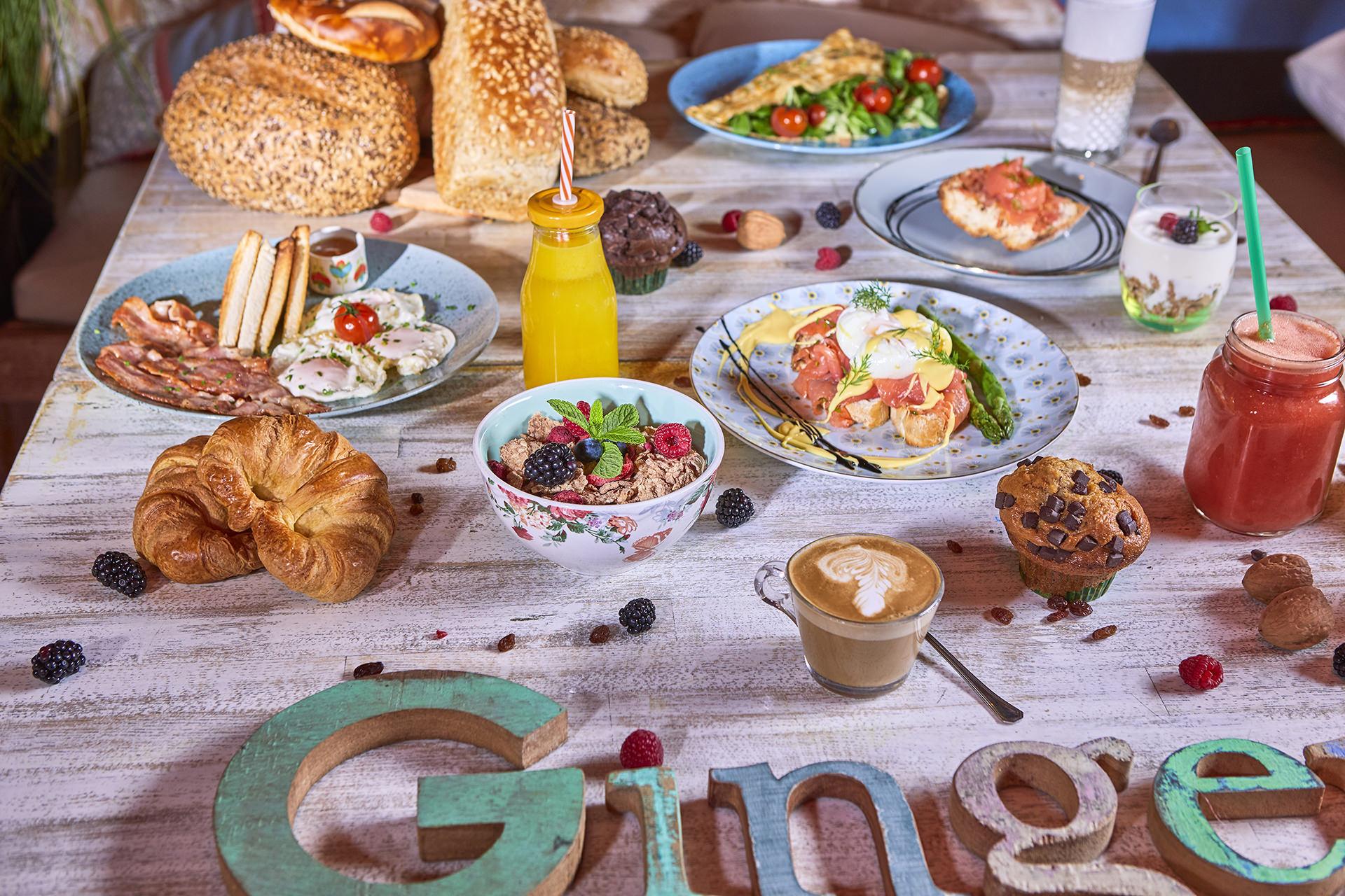 Desayuno en Ginger, Playa de Palma